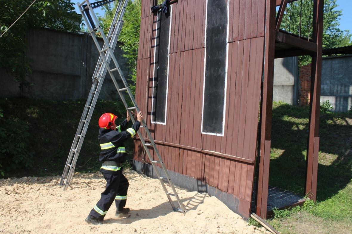Рятувальники Хмельницької області змагалися за звання кращого начальника караулу, фото-2