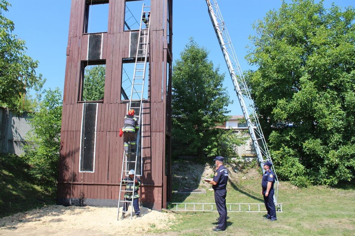 Рятувальники Хмельницької області змагалися за звання кращого начальника караулу, фото-6
