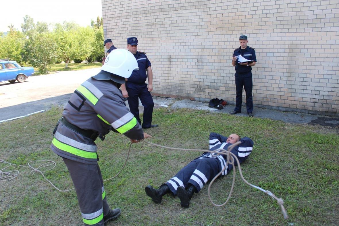 Рятувальники Хмельницької області змагалися за звання кращого начальника караулу, фото-7