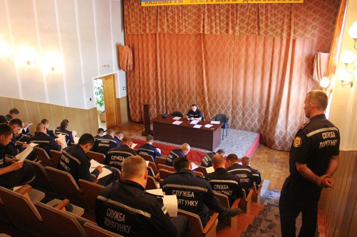 Рятувальники Хмельницької області змагалися за звання кращого начальника караулу, фото-4
