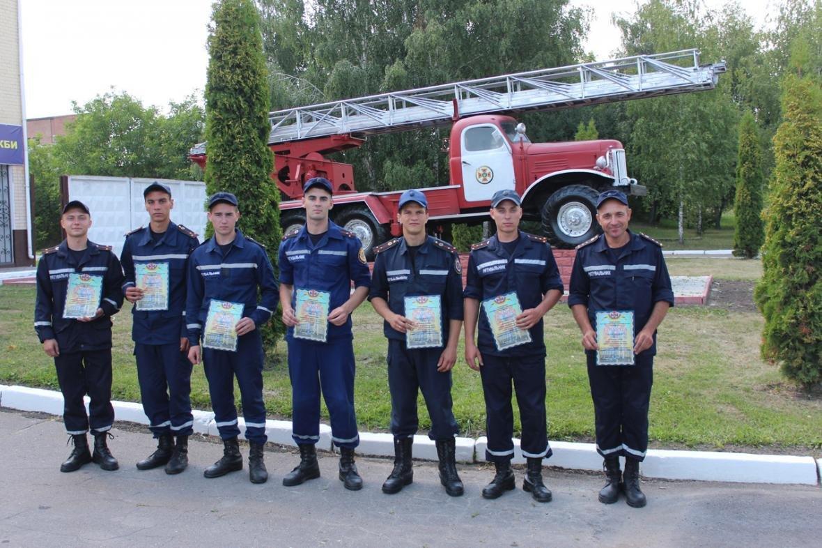Рятувальники Хмельницької області змагалися за звання кращого начальника караулу, фото-1