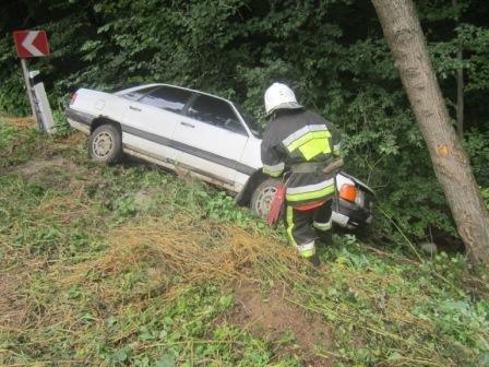 Рятувальники витягли з кювету автомобіль, фото-2