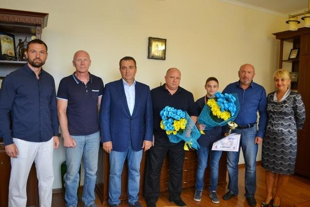 Чемпіон Європи з боксу повернувся до рідного Кам`янця, фото-1