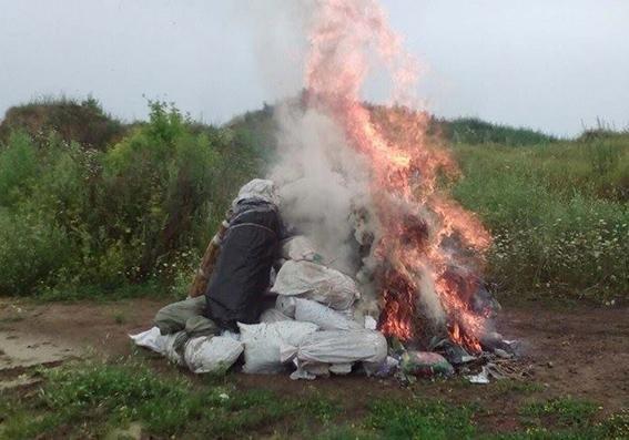 В Хмельницькій області знищили вилучені наркотичні засоби, фото-2