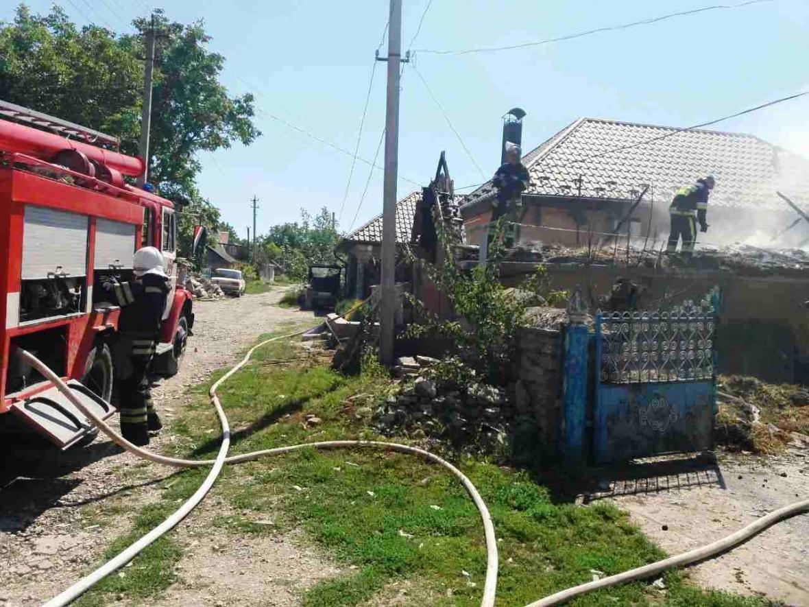 В Кам`янець-Подільському районі рятувальники ліквідували пожежу допоміжної споруди, фото-4