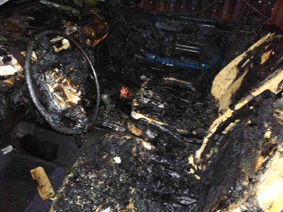 Вночі рятувальники ліквідували пожежу автомобіля, фото-4