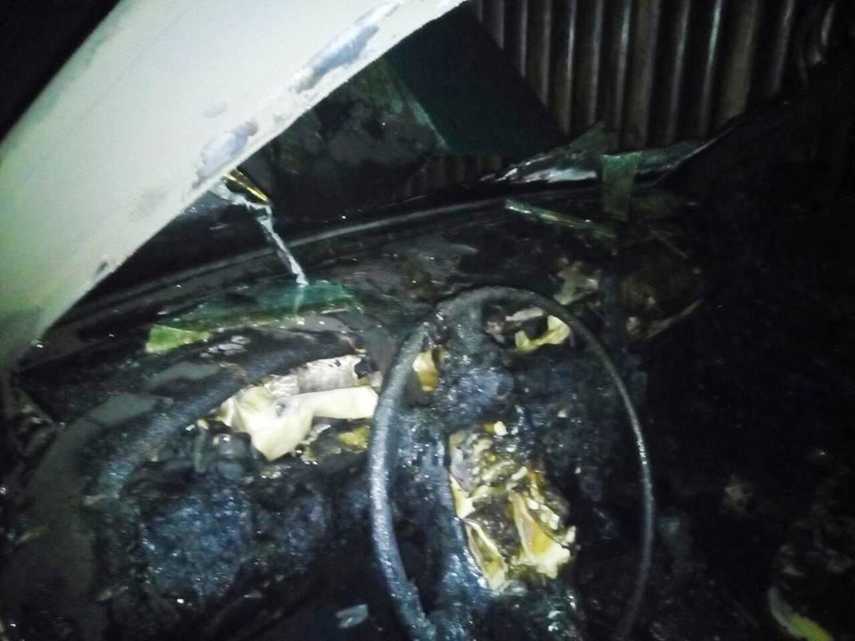 Вночі рятувальники ліквідували пожежу автомобіля, фото-3
