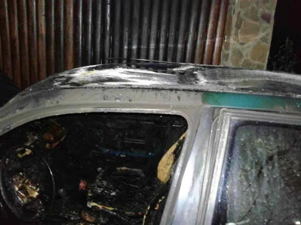 Вночі рятувальники ліквідували пожежу автомобіля, фото-1