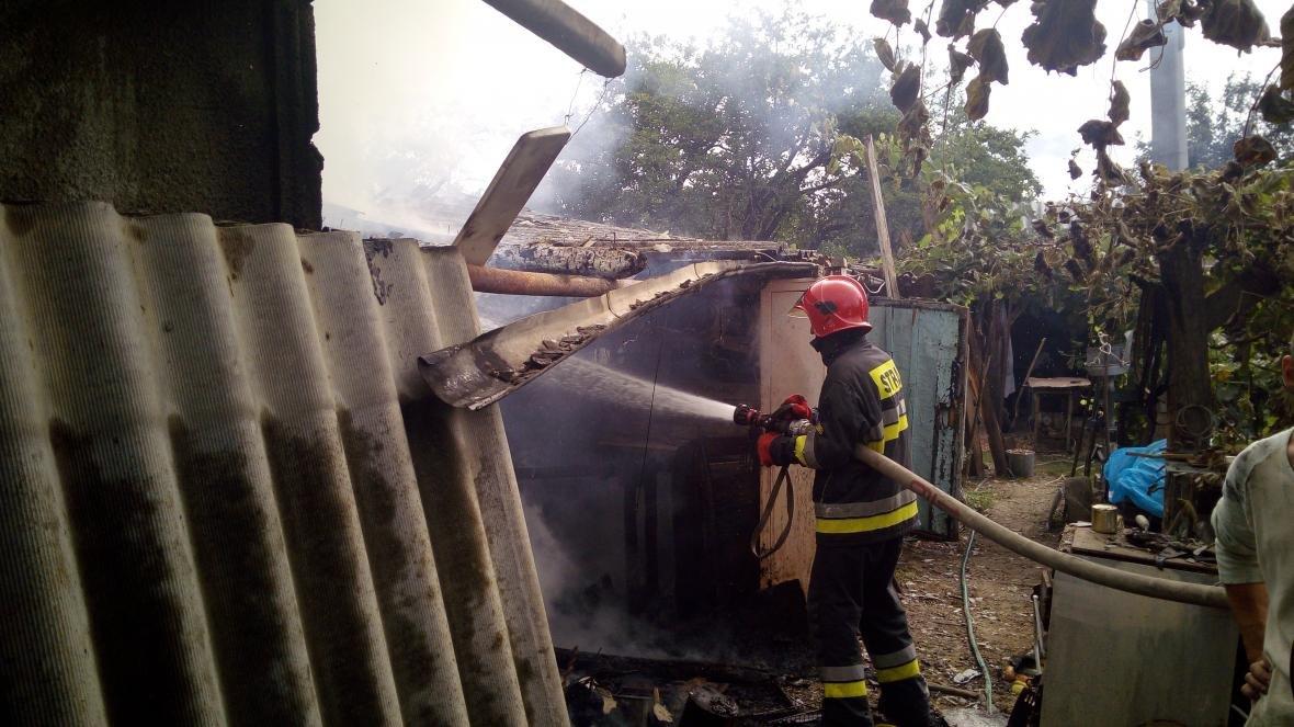 На Дунаєвеччині рятувальники ліквідували пожежу, фото-3