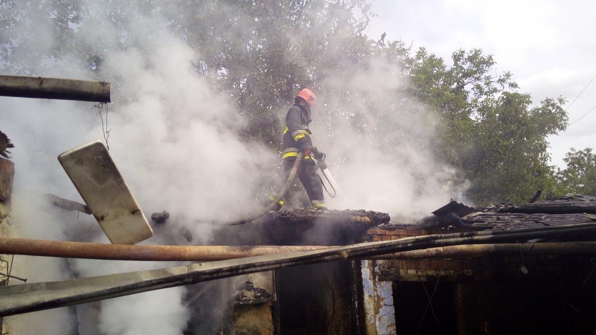 На Дунаєвеччині рятувальники ліквідували пожежу, фото-2