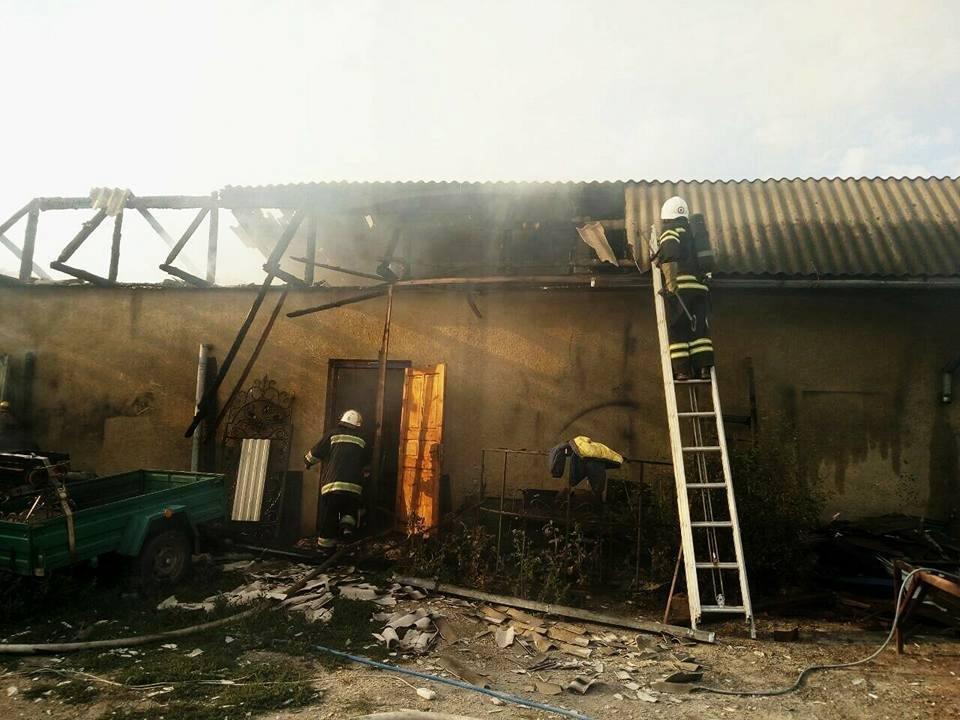 Пожежа на День Незалежності у Кам`янець-Подільському районі, фото-2