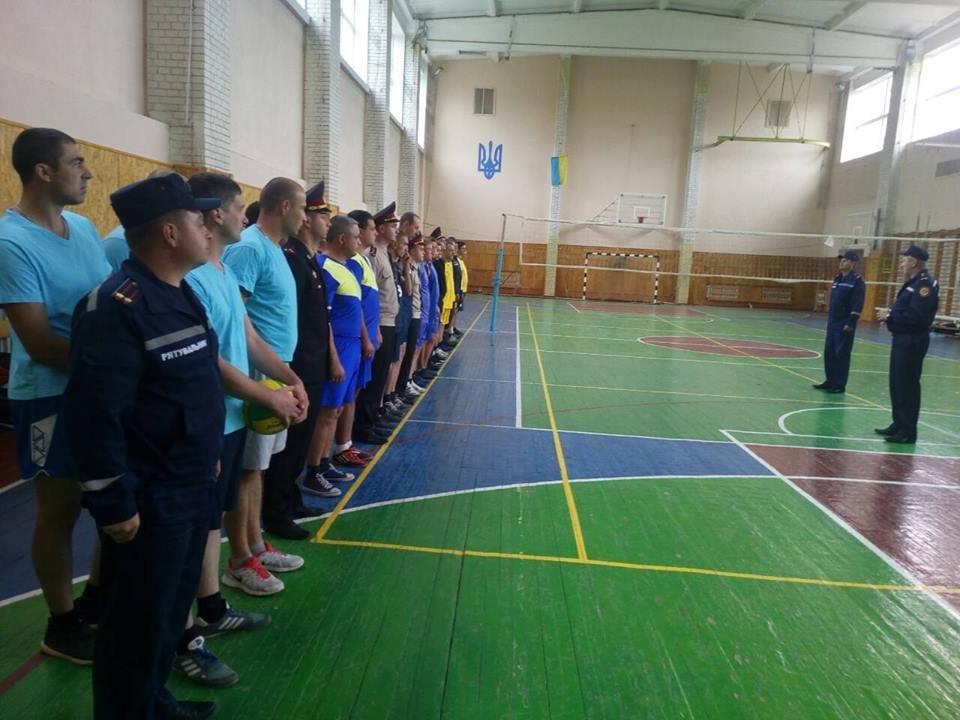 Кам`янецькі рятувальники грали у волейбол і увійшли у фінал турніру, фото-1