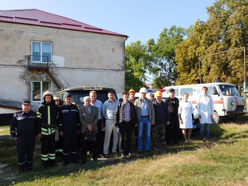 Штабне тренування у селі Довжок, фото-1