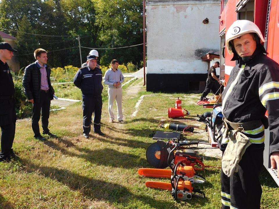 Штабне тренування у селі Довжок, фото-4