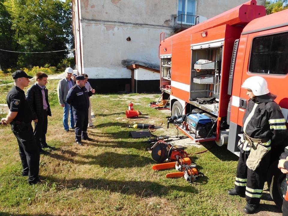 Штабне тренування у селі Довжок, фото-3