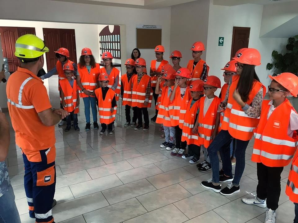 """ПАТ """"Подільський цемент"""" провели захід для дітей """"Безпека сім'ї на роботі і вдома"""", фото-1"""