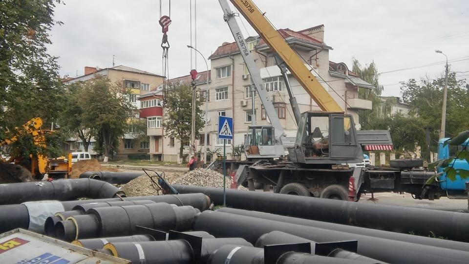 Ремонтні роботи по проспекту Грушевського, фото-1