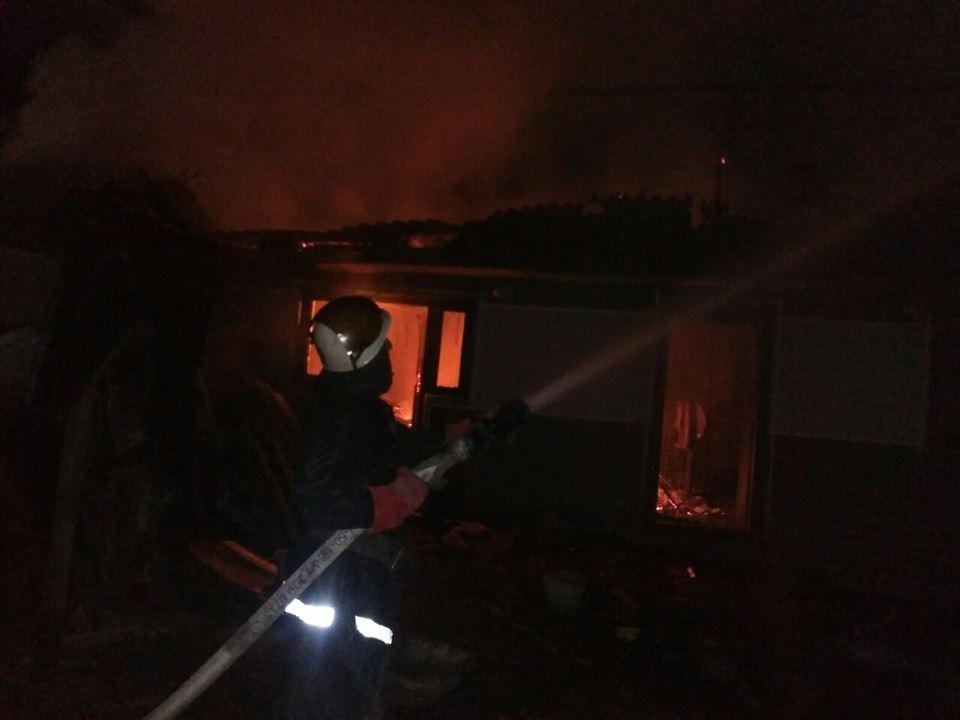 Пожежа у селі Залісся, фото-2