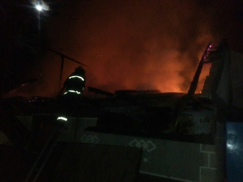 Пожежа у селі Залісся, фото-4
