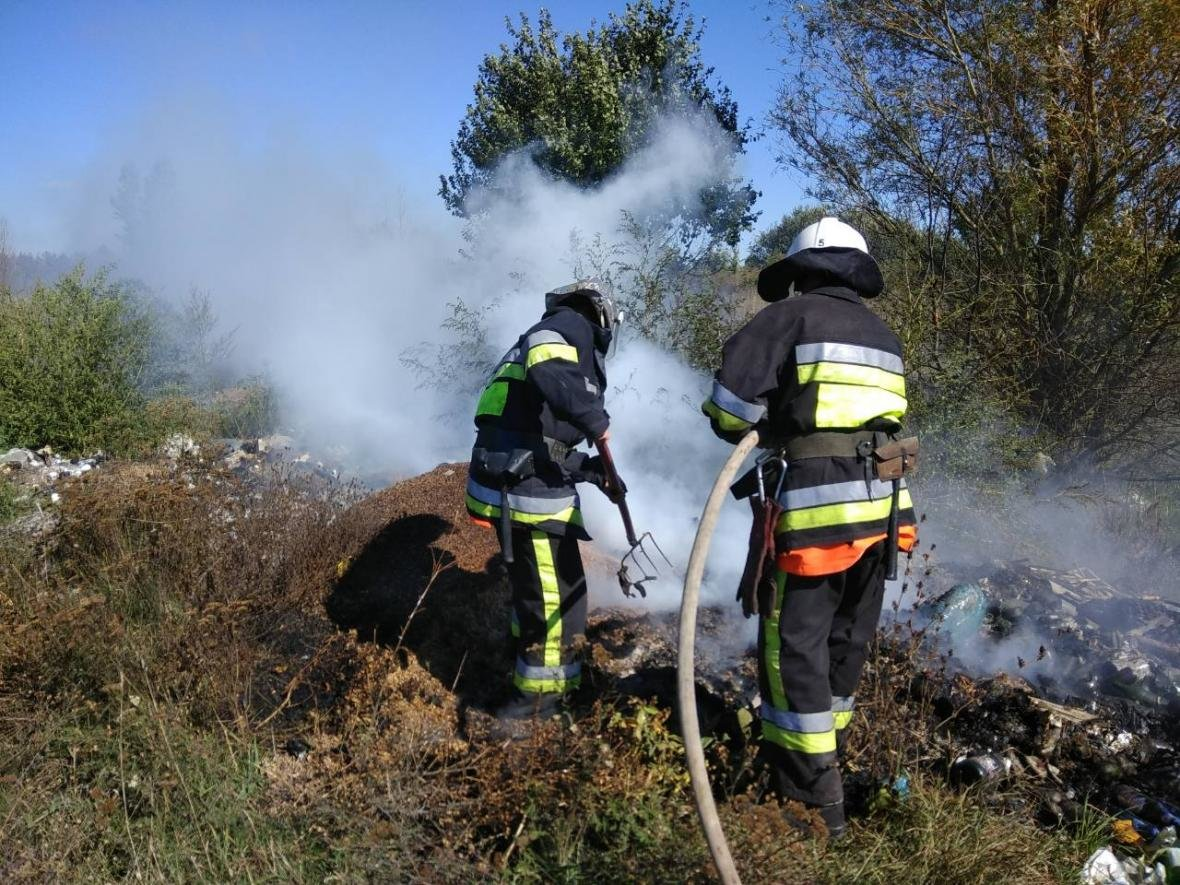Пожежа в околицях села Субіч Кам'янець-Подільського району, фото-1
