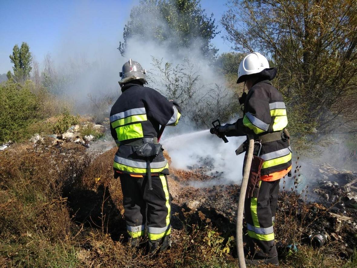 Пожежа в околицях села Субіч Кам'янець-Подільського району, фото-2