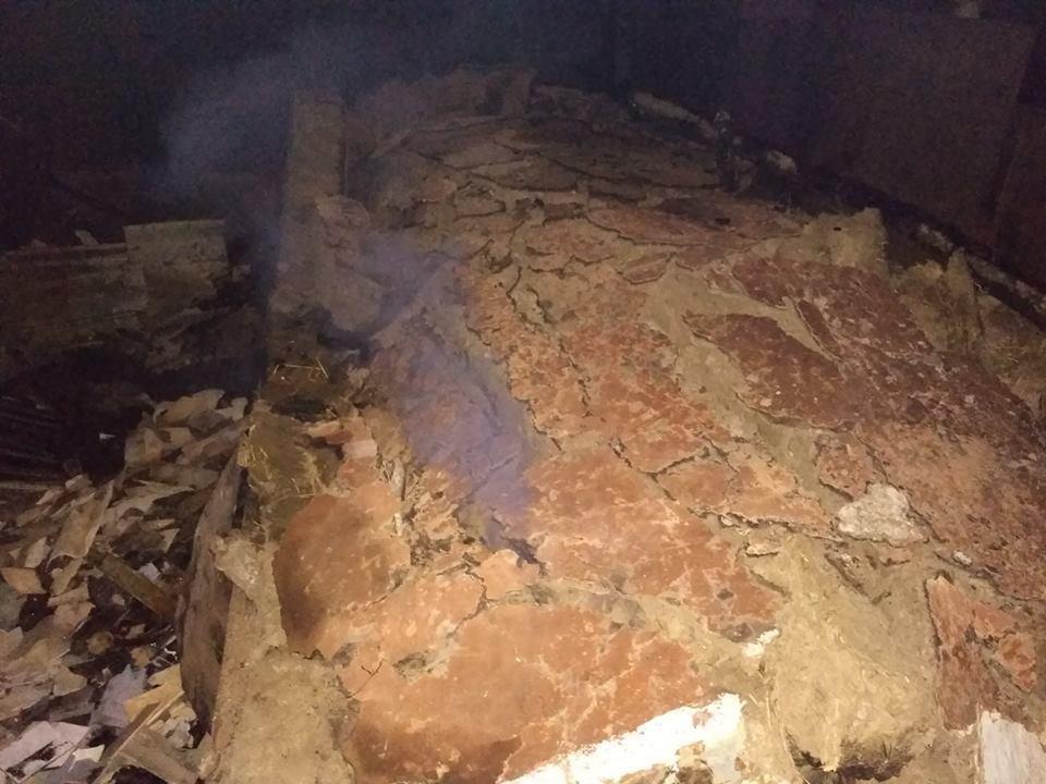 Пожежа у селі Демшин Кам'янець-Подільського району, фото-1