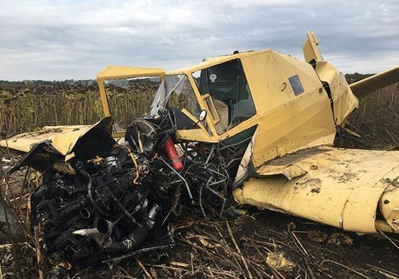 На Хмельниччині впав літак, фото-1