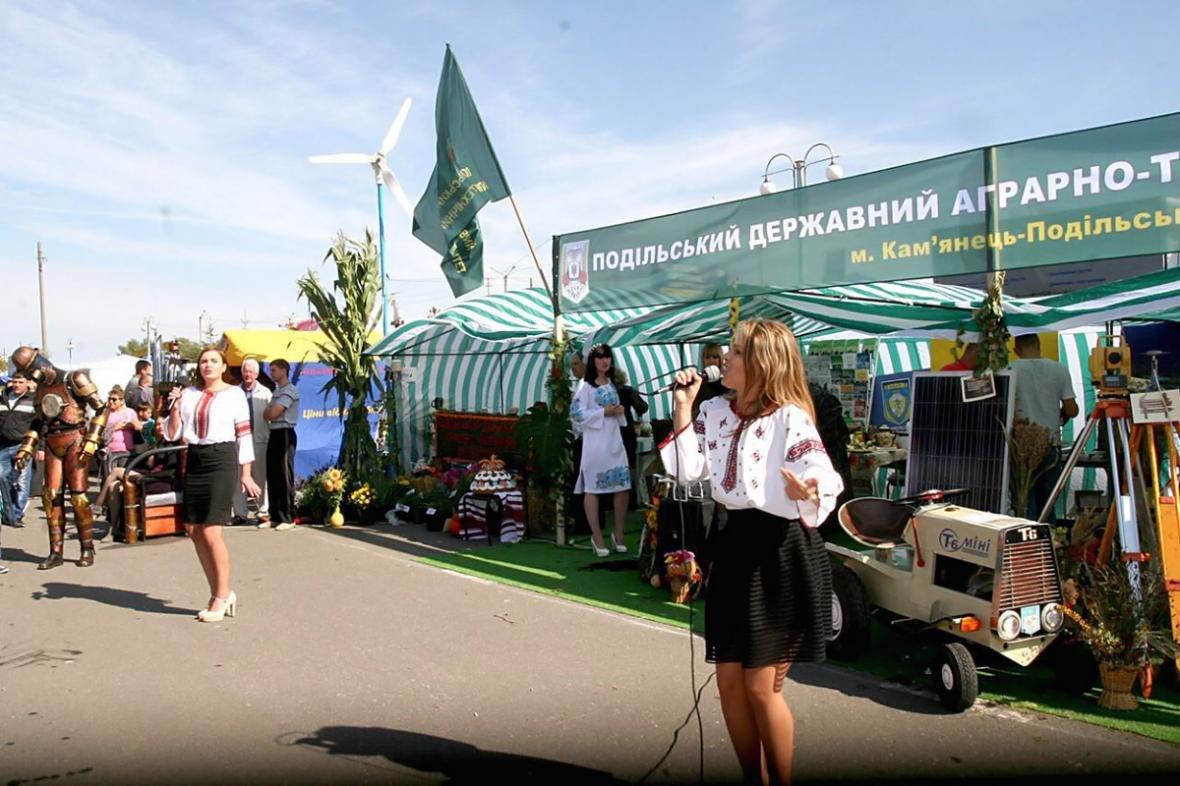"""ПДАТУ на обласній виставці """"Агро-Поділля 2017"""", фото-3"""