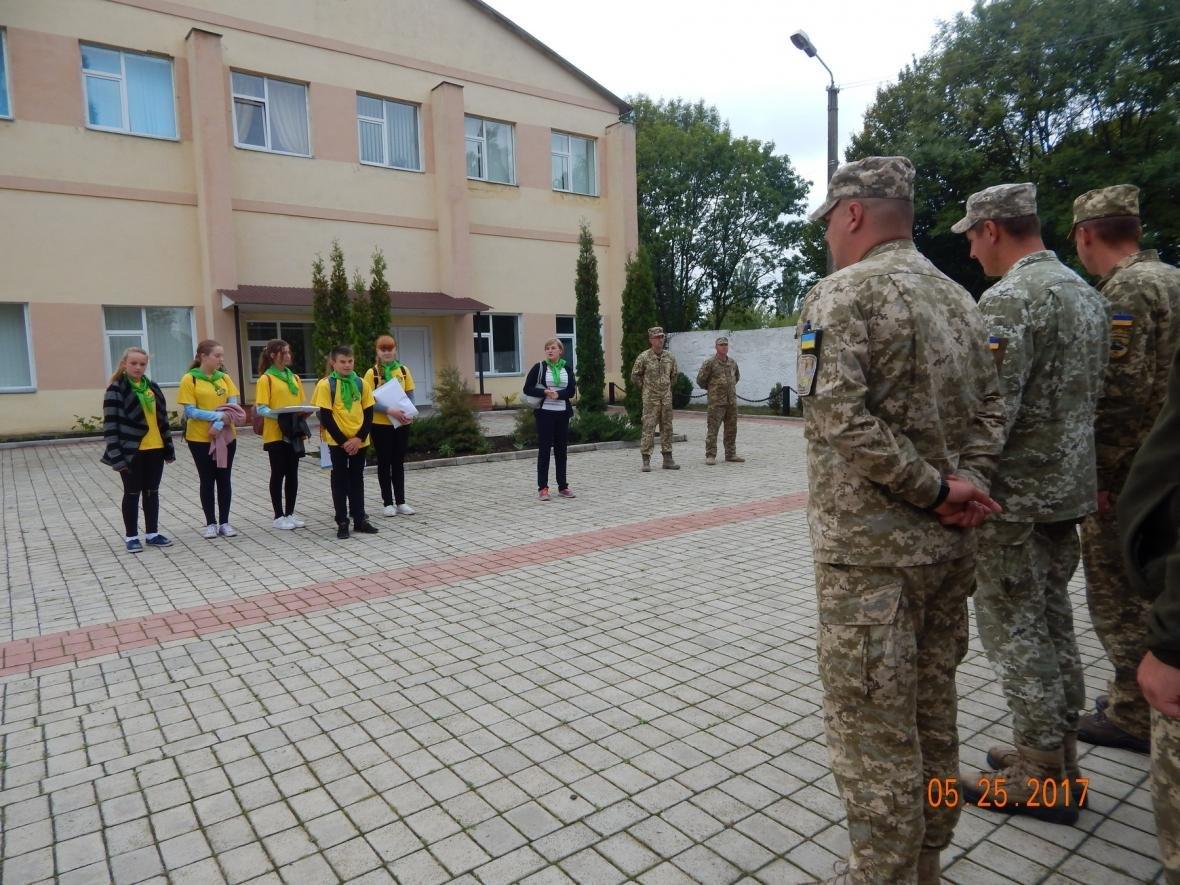 ЗОШ №15 у гостях у військовийх Центру розмінування, фото-1