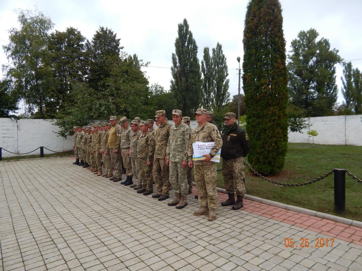 ЗОШ №15 у гостях у військовийх Центру розмінування, фото-2