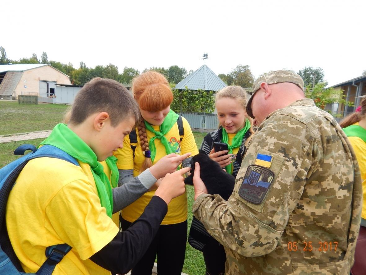 ЗОШ №15 у гостях у військовийх Центру розмінування, фото-4