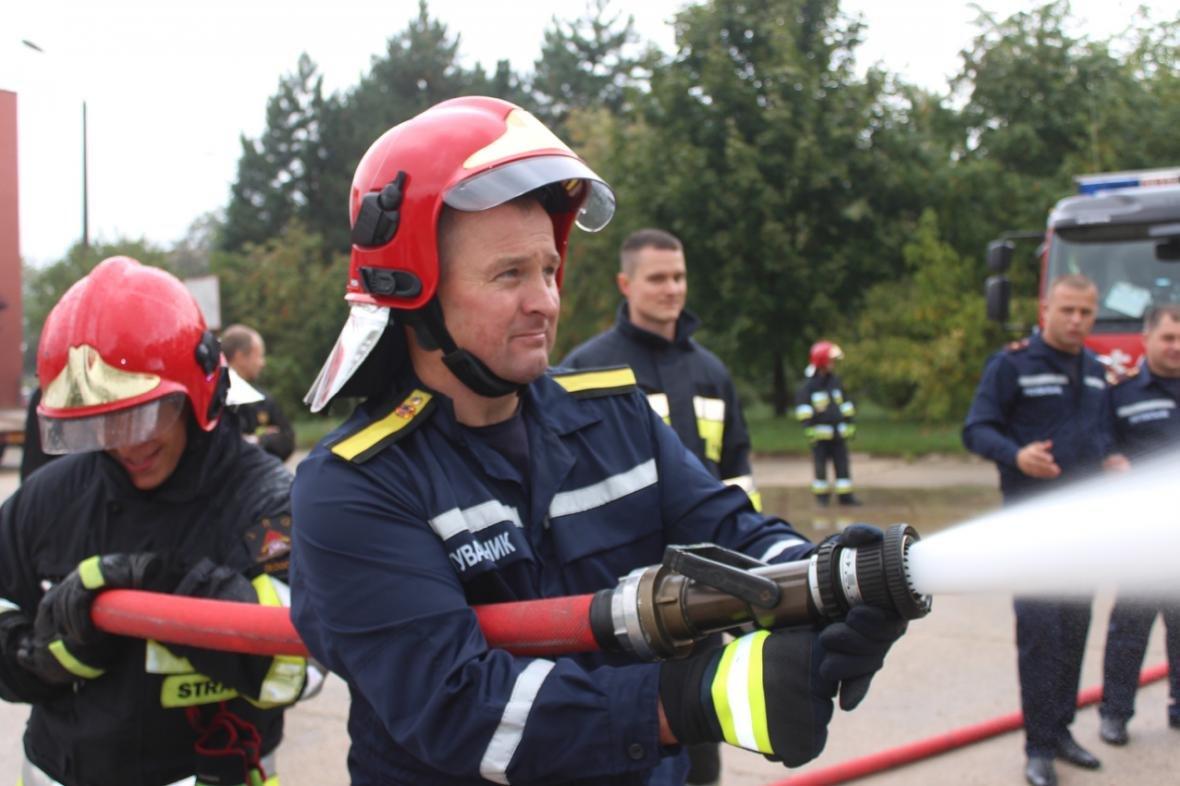 Делегація вогнеборців з Кам'янця-Подільського відвідала польських колег, фото-3