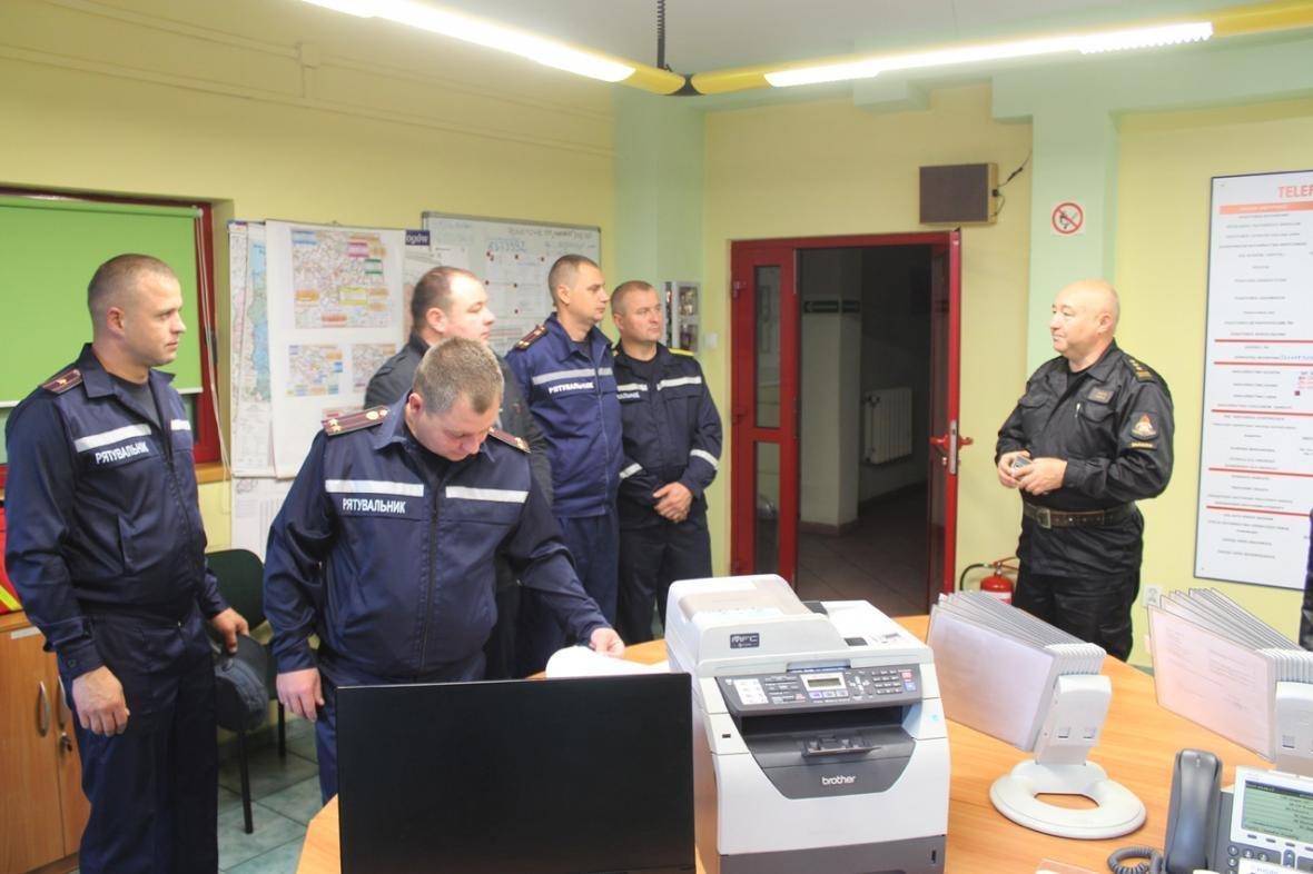 Делегація вогнеборців з Кам'янця-Подільського відвідала польських колег, фото-1