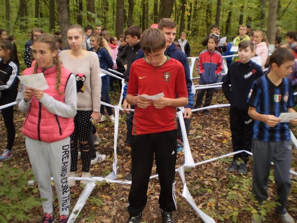 Школи Кам'янця змагались зі спортивного орієнтування, фото-3