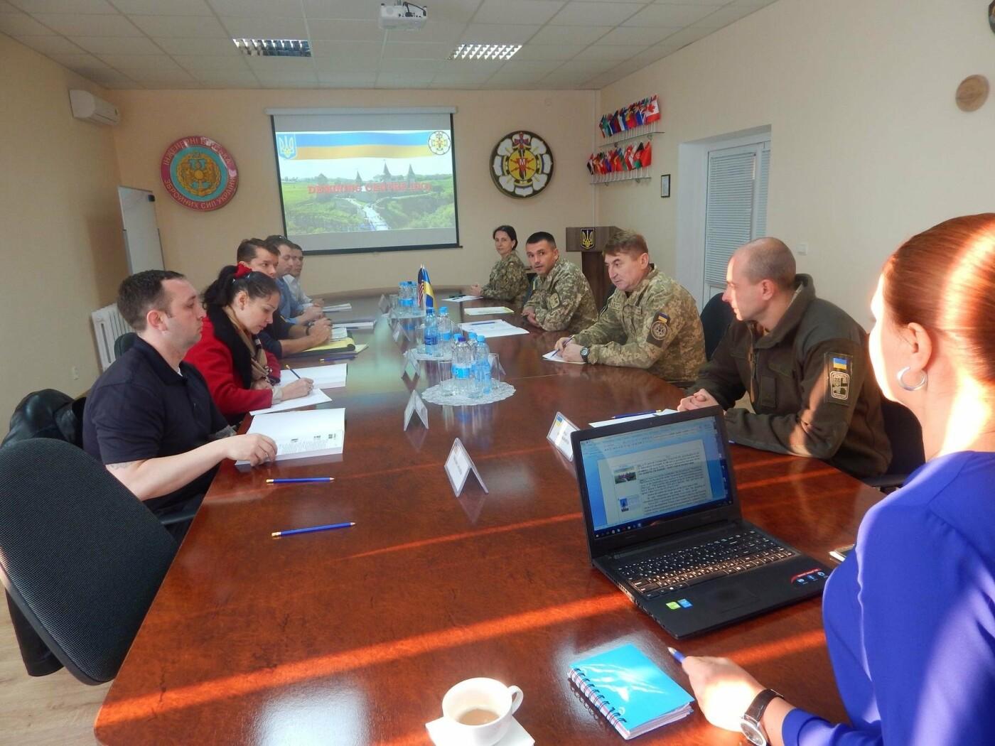 Центр розмінування відвідала делегація Збройних Сил США, фото-1