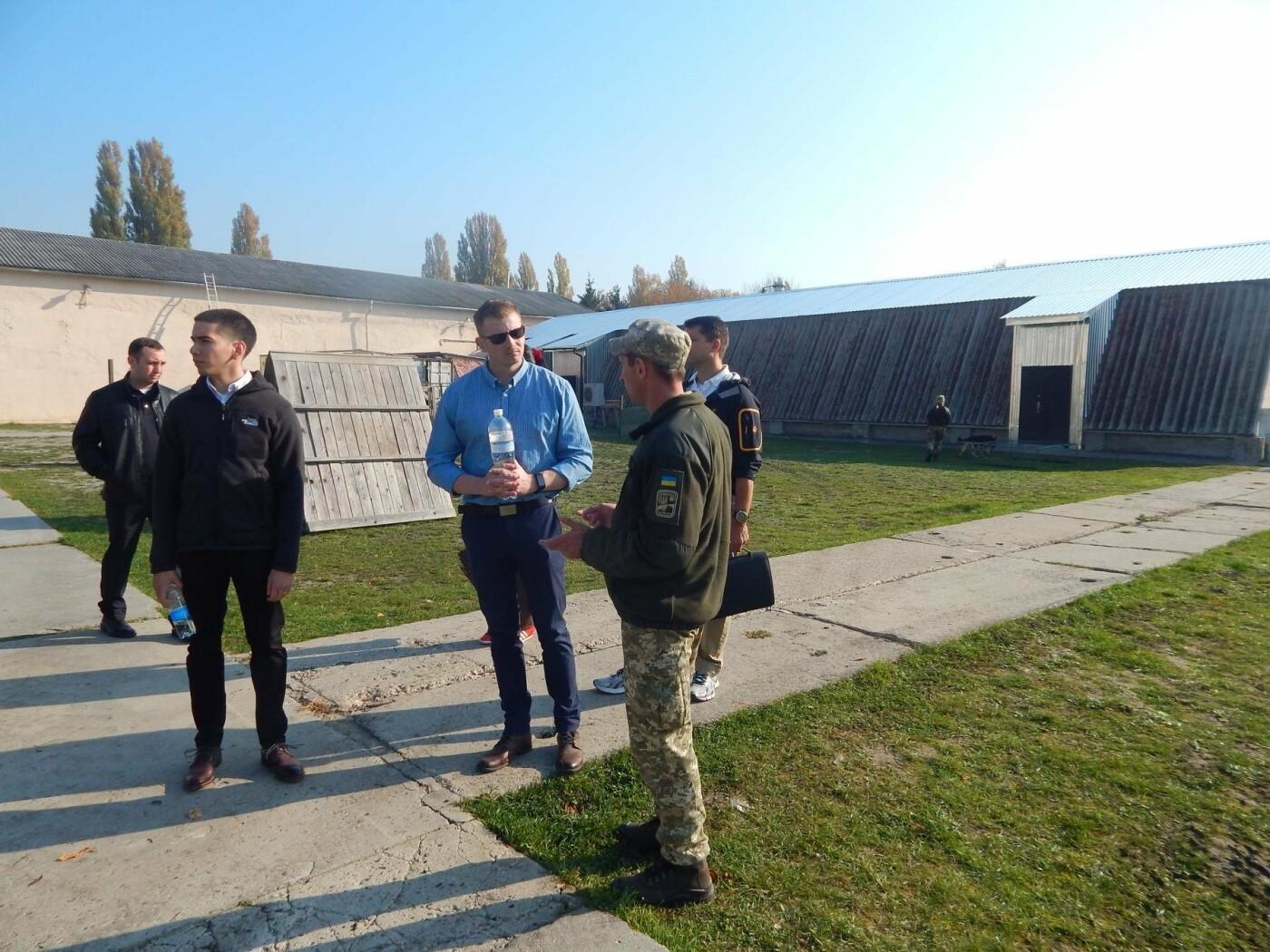 Центр розмінування відвідала делегація Збройних Сил США, фото-7