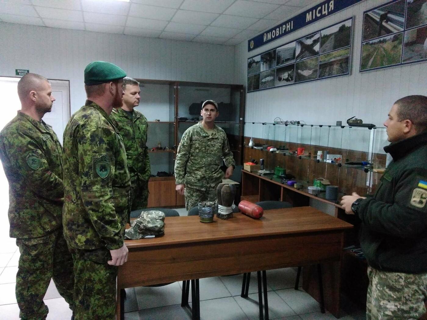 В Центрі розмінуванняння проведено 12-ти денний курс з військовослужбовцями Збройних Сил Естонії , фото-3