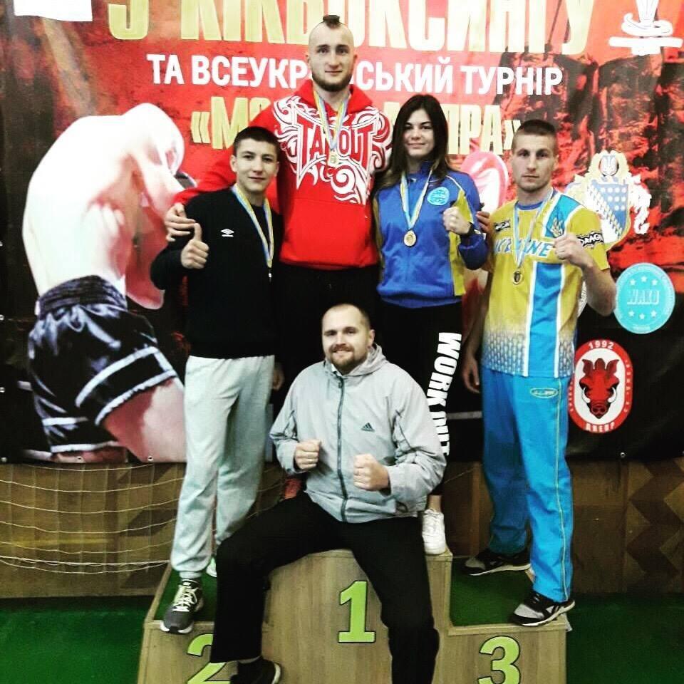 Кам'янчани здобули три золота на чемпіонаті України з кікбоксинку WAKO, фото-1