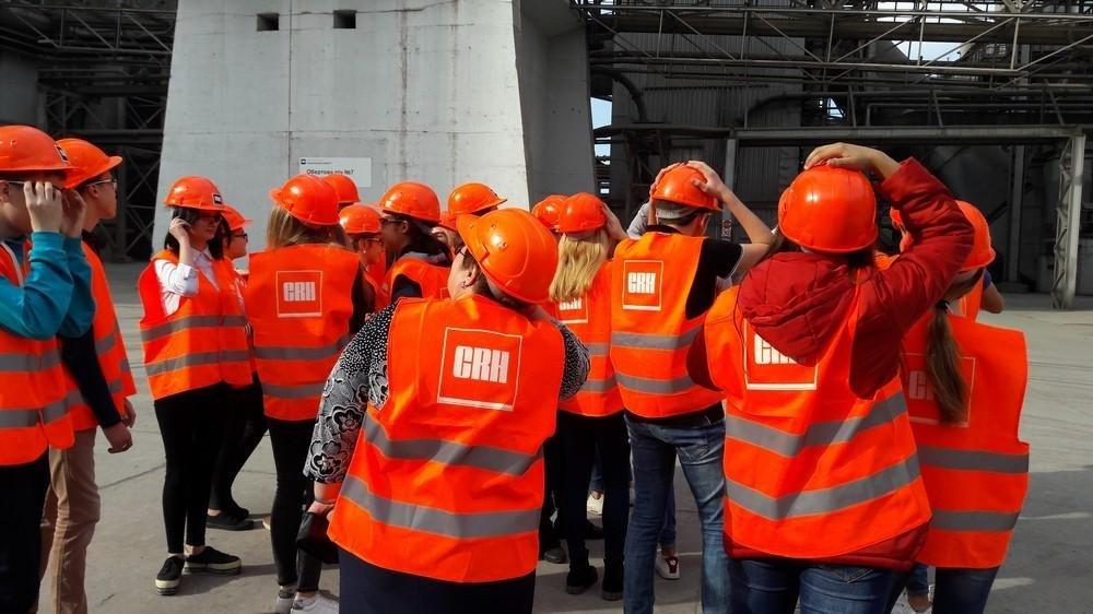 """Школярі відвідали ПАТ """"Подільський цемент"""", фото-4"""