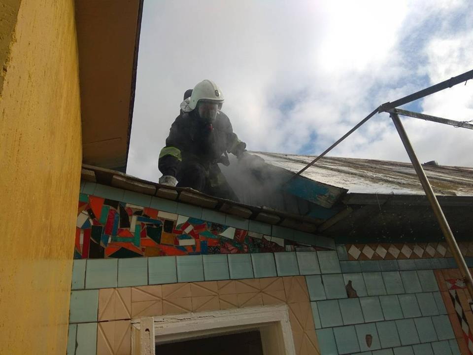 Пожежа житлового будинку у селі Слобідка Рихтівська, фото-1