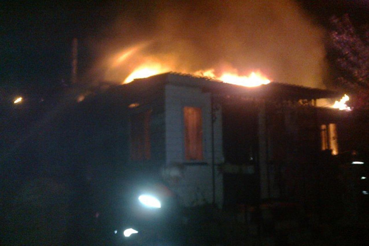 Пожежа у селі Врублівці, фото-1