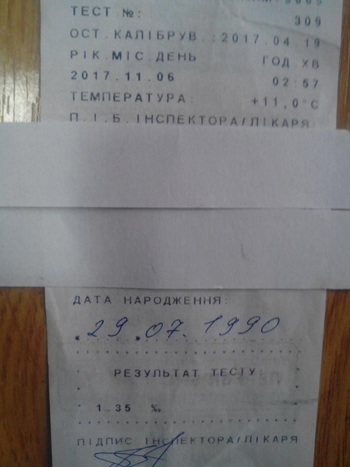 У Кам'янці затримали водія,  у стані алкогольного сп'яніння, фото-2
