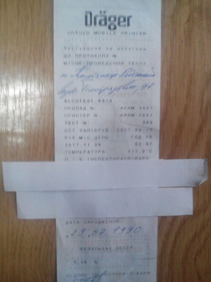 У Кам'янці затримали водія,  у стані алкогольного сп'яніння, фото-3