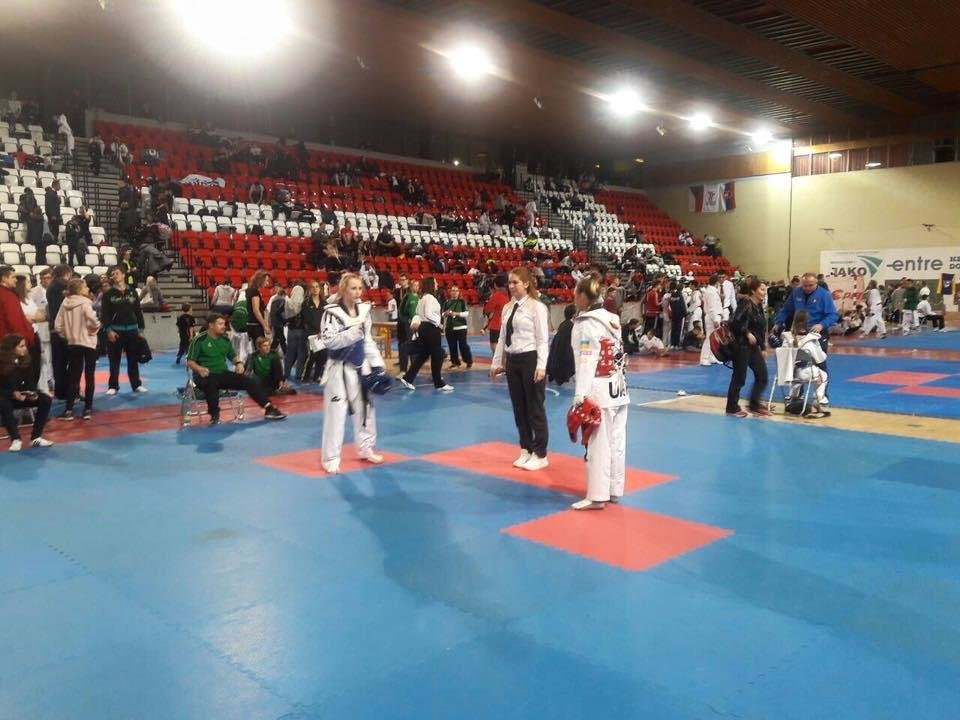 Студентка К-ПНУ посіла II місце на турнірі з тхеквондо у Празі, фото-1