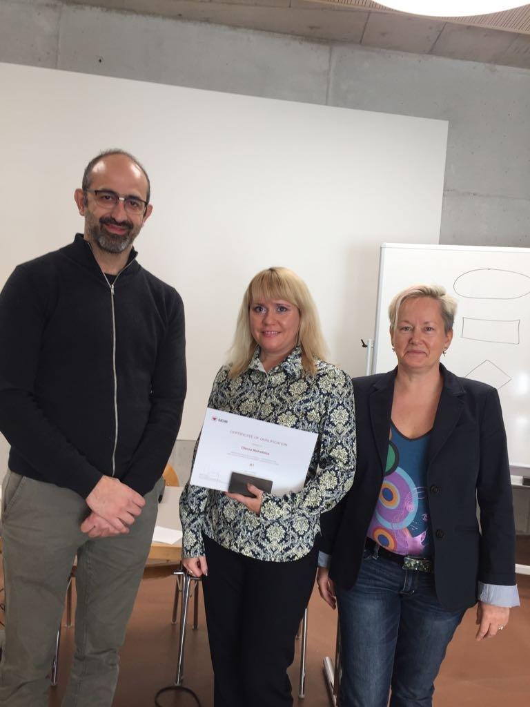 Військовослужбовець Центру розмінування увійшов в трійку найкращих слухачів фахового курсу в Швейцарії, фото-1
