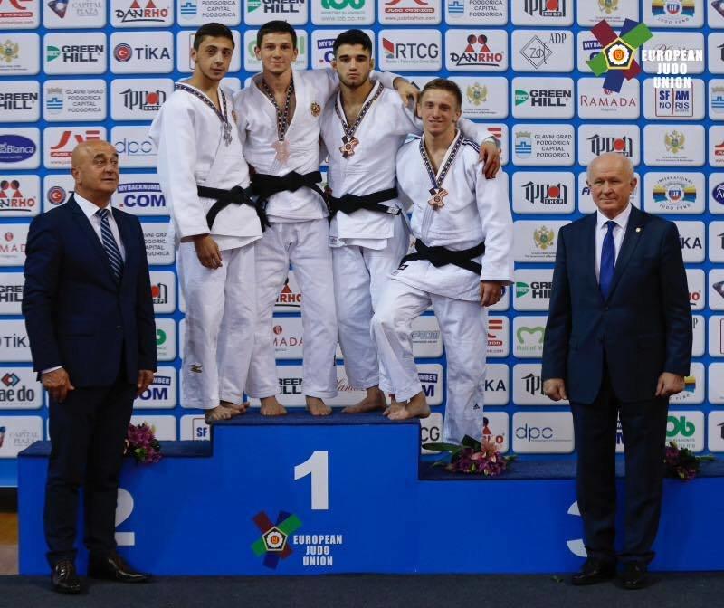 Студент К-ПНУ Артем Лесюк на чемпіонаті Європи з дзюдо, фото-2
