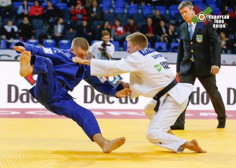 Студент К-ПНУ Артем Лесюк на чемпіонаті Європи з дзюдо, фото-1
