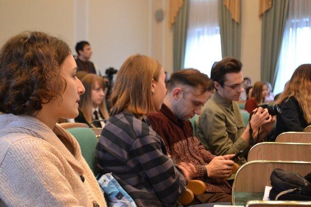 Кам'янецькі студенти приймали привітання, фото-2