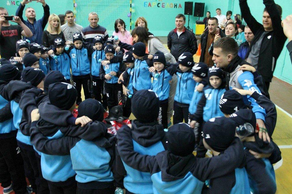 """У Кам'янці відбулось сімейно-спортивне свято під назвою """"Кімната юного футболіста"""", фото-3"""