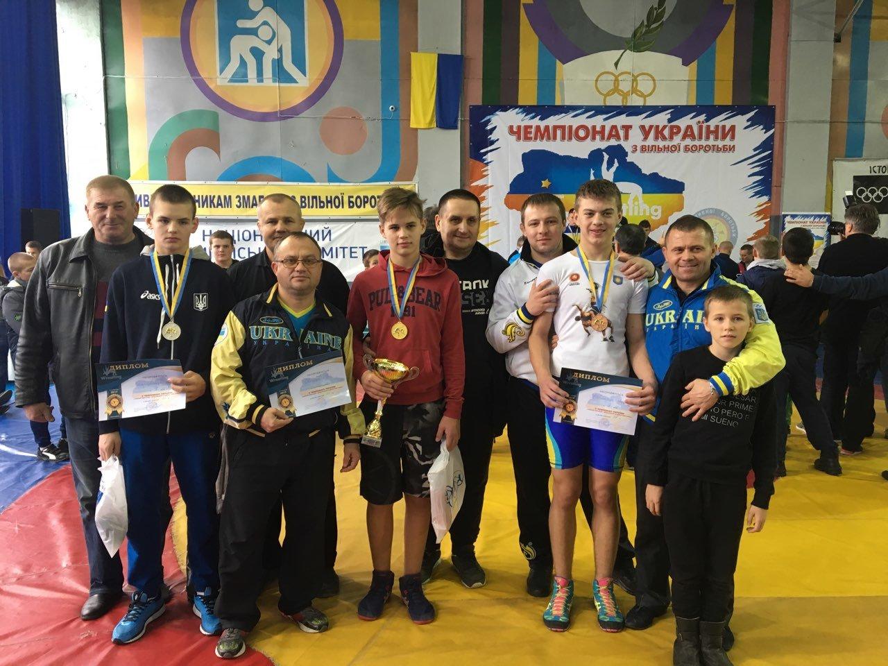 Чемпіонат України з вільної боротьби, фото-1